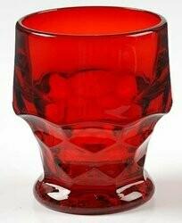 Fenton, Georgian Ruby Red, Juice Glass