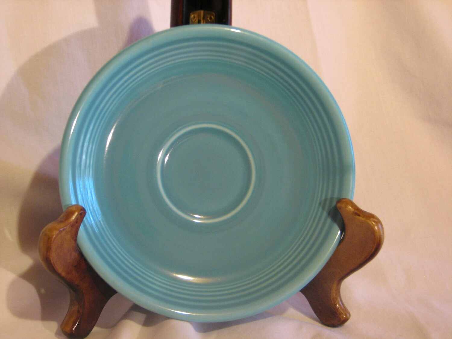 Fiestaware by Homer Laughlin, Saucer, Turquoise