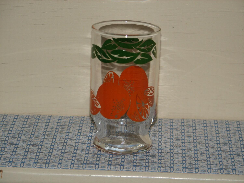 Anchor Hocking Footed Orange Juice Glass