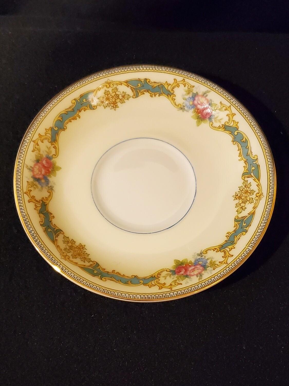 Noritake Saucer, Footed, Porcelain, Althea pattern