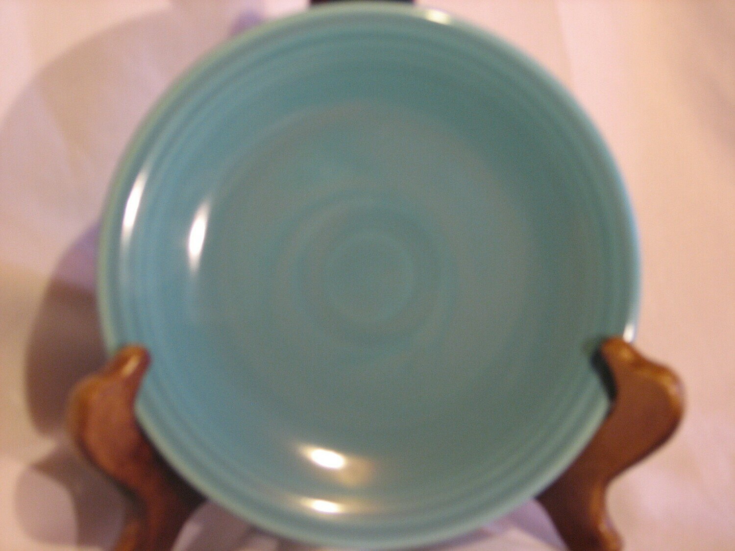 Fiestaware by Homer Laughlin  Bread & Butter Plate, Turquoise
