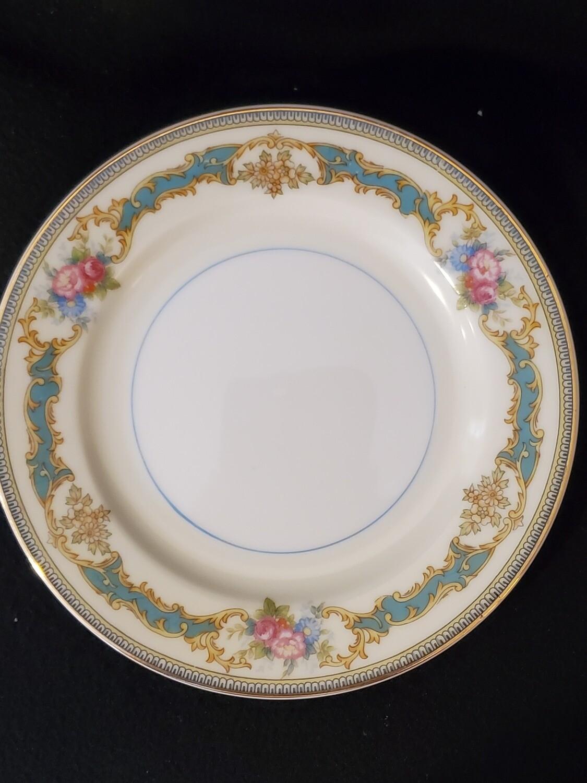 """Noritake Bread & Butter Plate, Porcelain, Althea pattern, 6 1/4"""" W"""