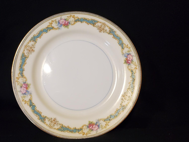 "Noritake Salad Plate 7 5/8"" W, Porcelain, Althea pattern,"