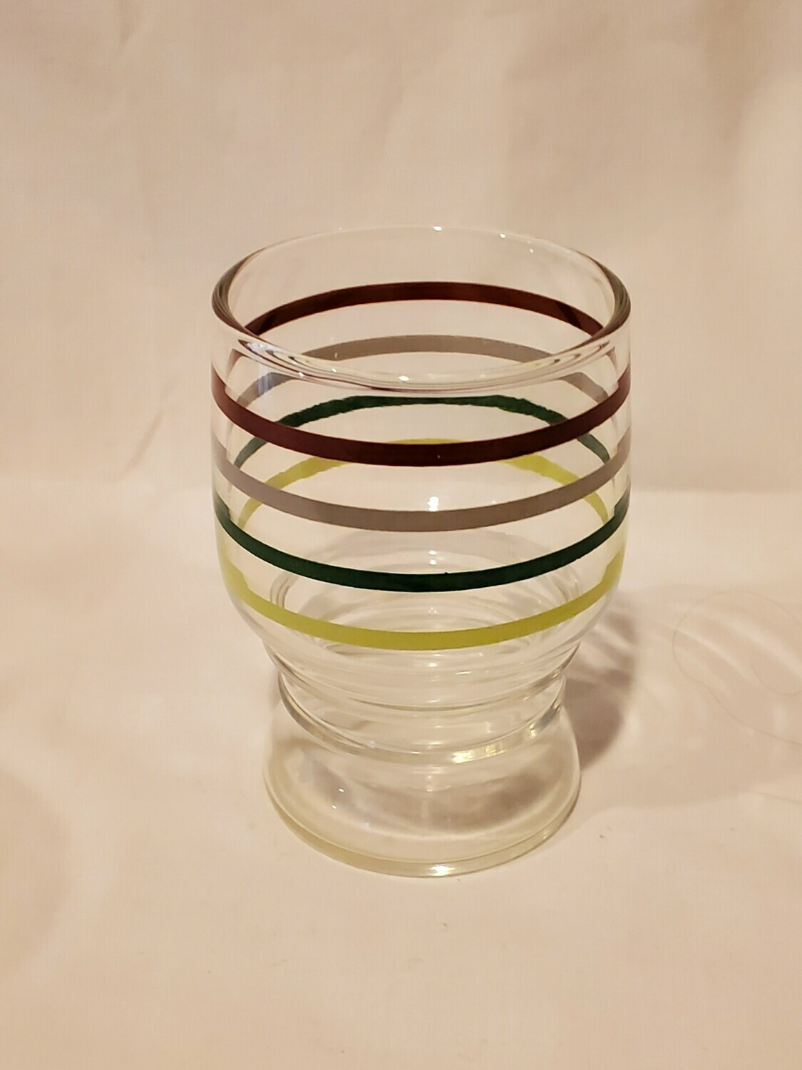 Libbey's, Banded Rings, Juice Glasses, Set of 4