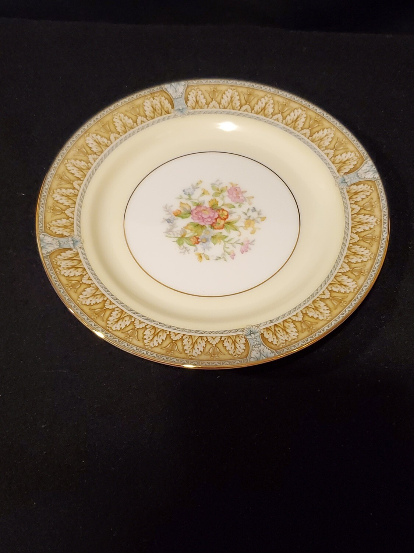 "Noritake, Bread & Butter Plate 6 3/8 W"", Claire Pattern, Porcelain"