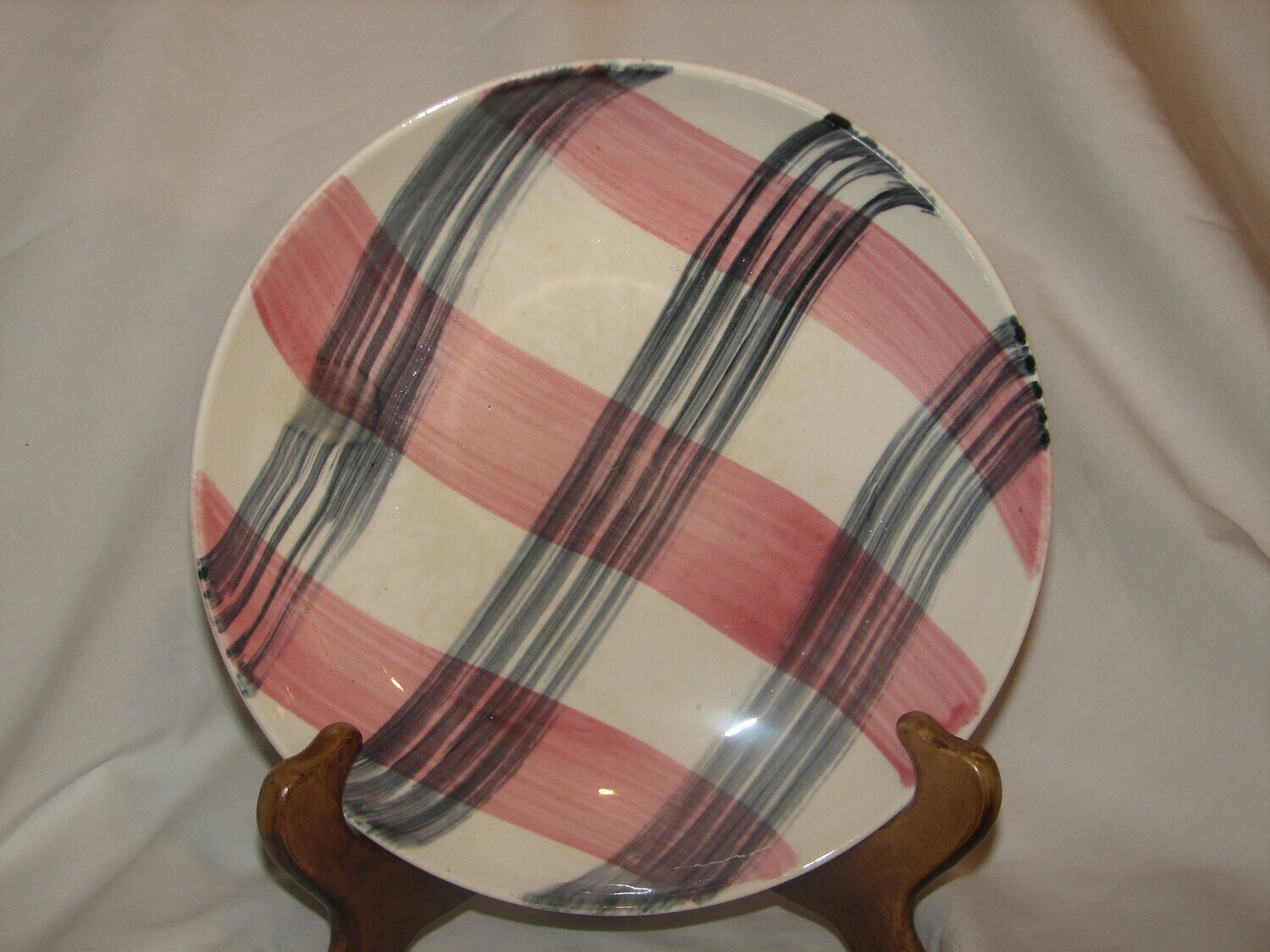 Stetson Cereal Bowl, Scots Clan - Pink/Charcoal