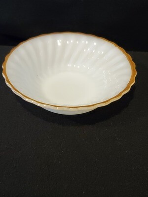 Anchor Hocking,  Swirl Golden Anniversary, Cereal Bowl 6 1/2