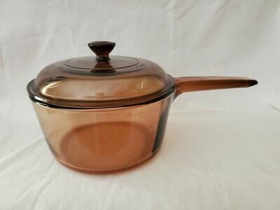 Corning Ware Visions Sauce Pan 1.5L W/Lid.