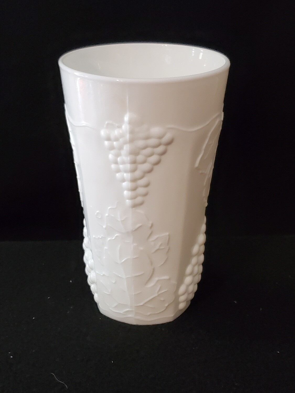 Cooler, Harvest Milk Glass, by Colony 5 3/4""