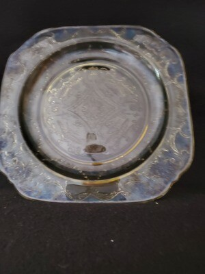 Vintage Madrid Amber Depression Glass, 7