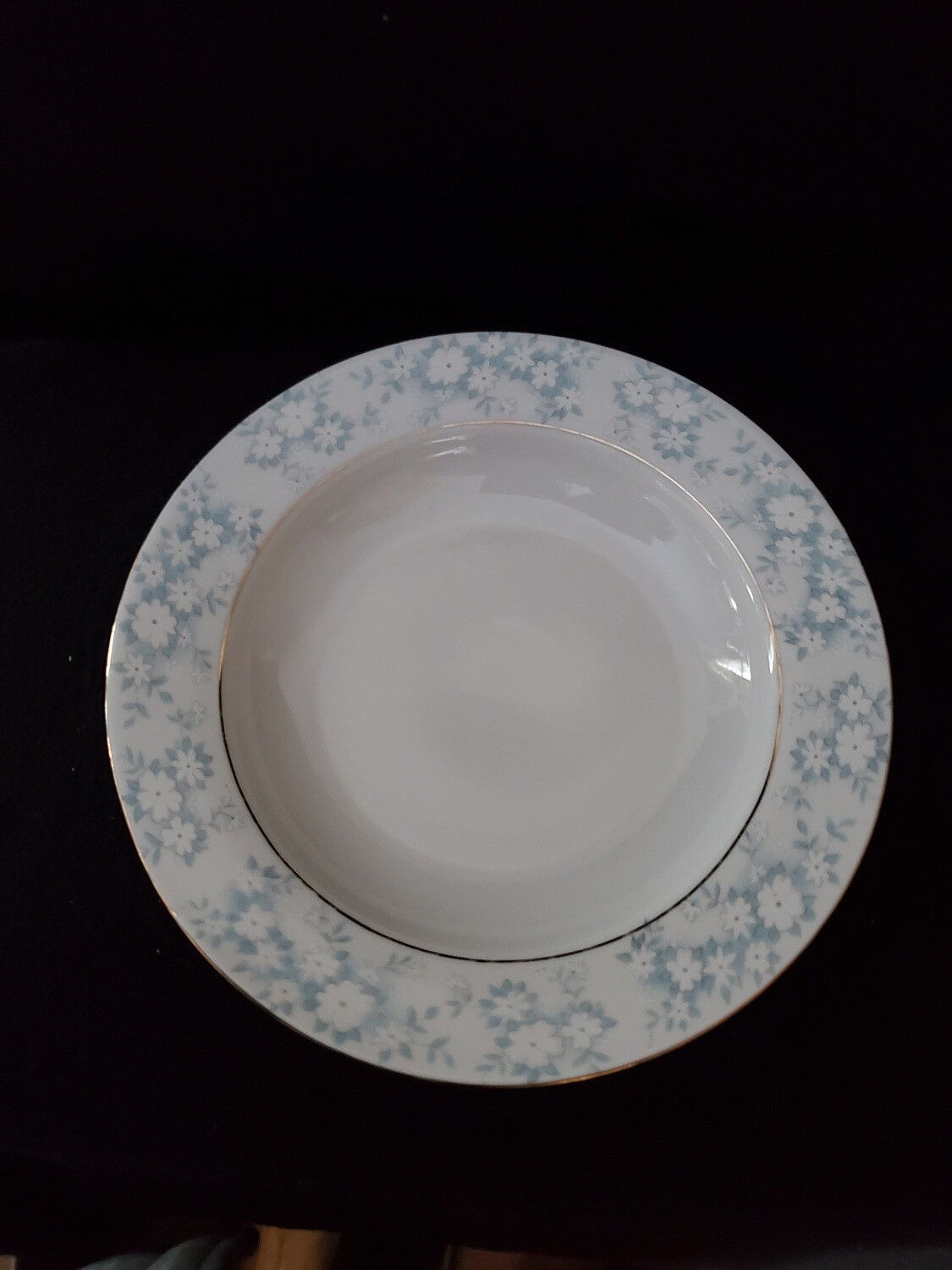 "Montgomery Ward, Rim Soup Bowl, 8 1/2"" Danube by Style House."
