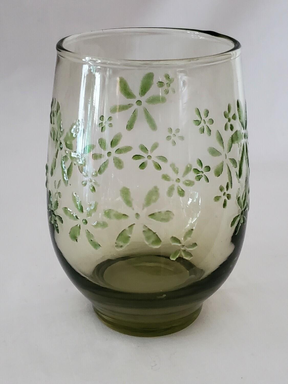 """Libbey Mint Bouquet, Cooler Glass, 4 3/8"""""""
