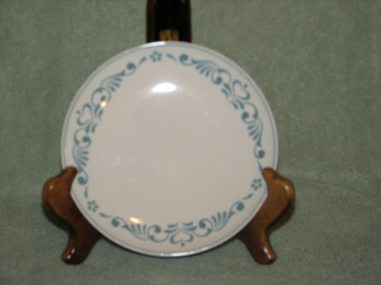 """Franciscan 6"""" Bread & Butter Plate, Whitestone Ware, Blue Fancy"""