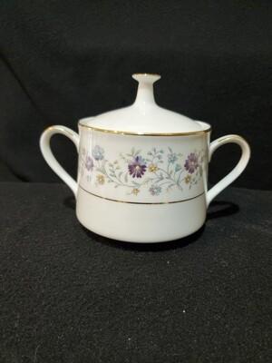 Noritake Contemporary, Sugar Bowl & Lid, Longwood #2485