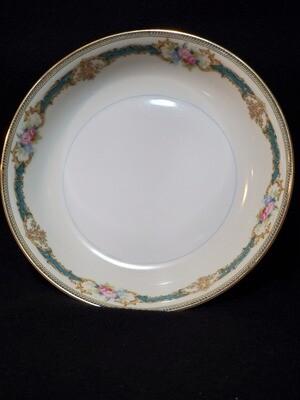 """Noritake Coupe Soup Bowl, Porcelain, Althea pattern, 7 3/8"""" W"""