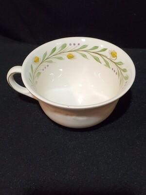 "Wedgwood China, Coffee/Tea Flat Cup 2 1/4"", Barley #A9772 Pattern"