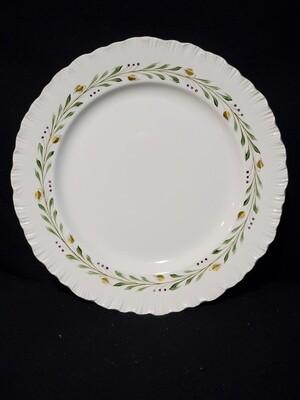"Wedgwood China, Dinner Plate 10 3/8"", Barley #A9772 Pattern"