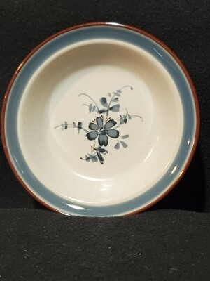 Noritake Stoneware, Rim Fruit/Desert/Sauce bowl, #8344 Pleasure