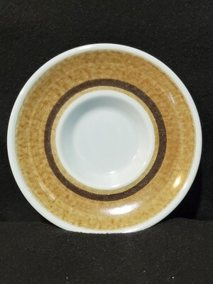 """Franciscan Earthenware, Saucer 5 5/8"""", Nut Tree Pattern, Blue Fancy"""