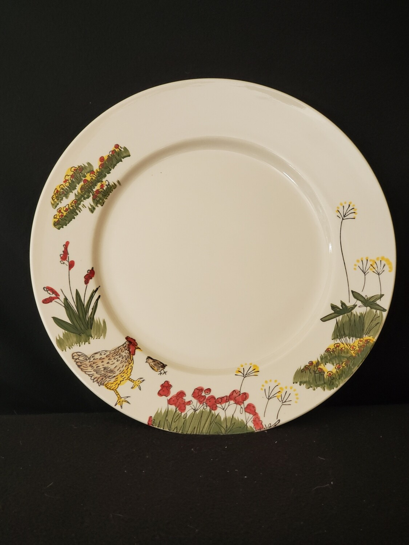 "Southern Rooster Dinner Plate 11"", Paula Deen"