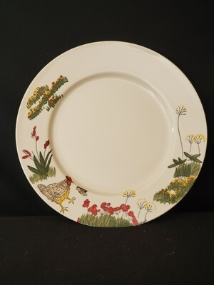 Southern Rooster Dinner Plate 11