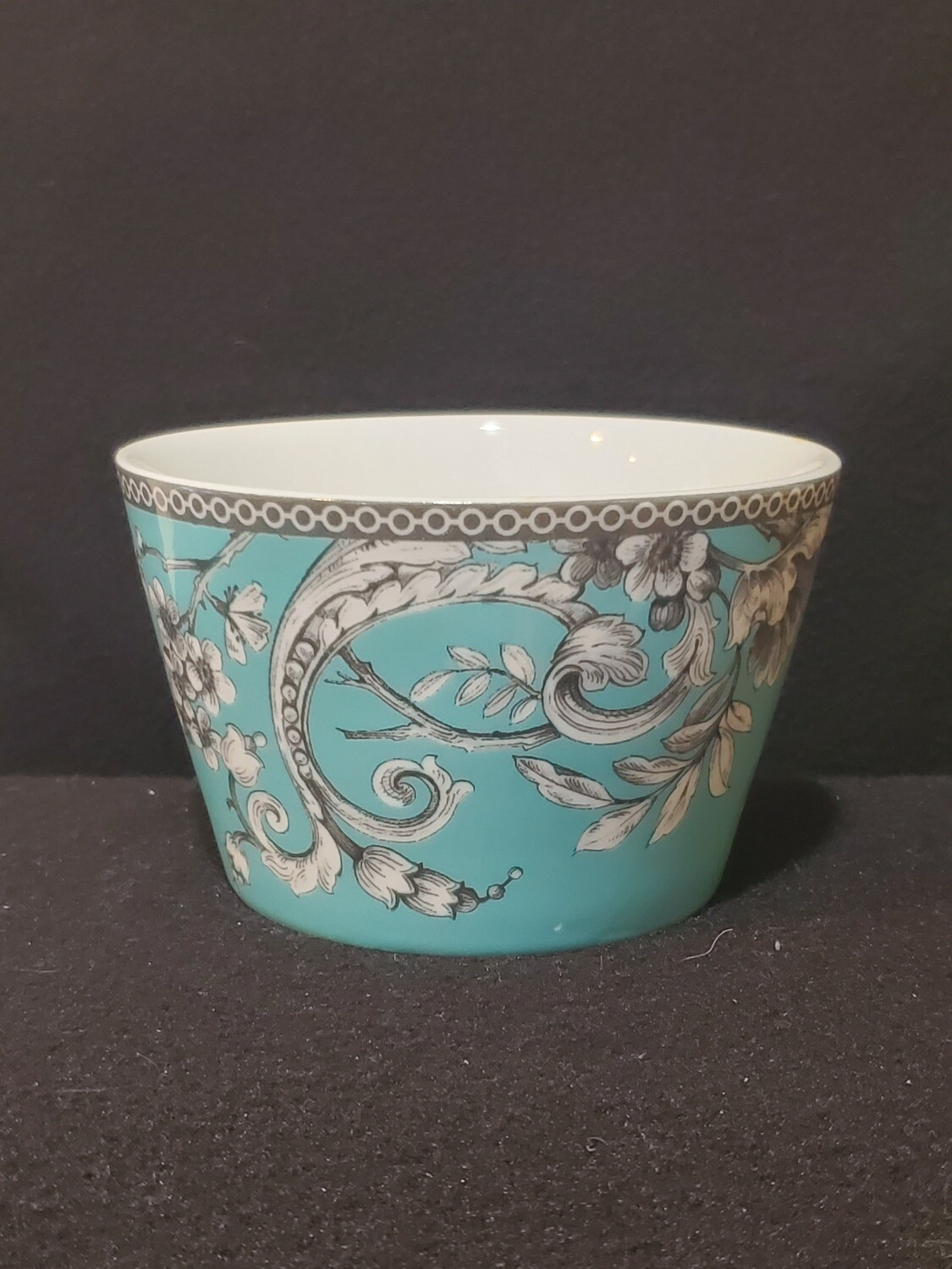 """Individual Appetizer Bowl, Adelaide Turquoise, 222 Fifth, 4.5"""" x 3"""""""