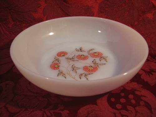 Fire King by Anchor Hocking-Cryst Cereal Bowl