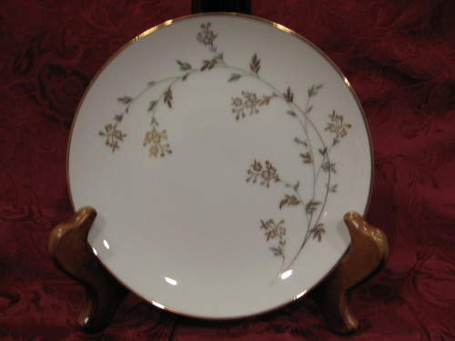 """Noritake China Salad Plate 8.25"""" Andrea Pattern #5524"""
