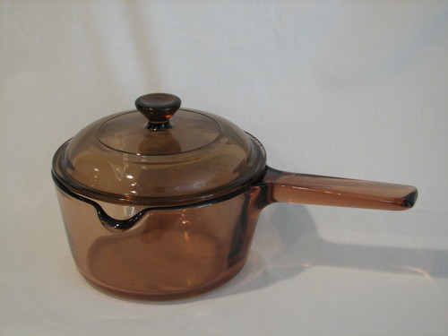 Corning Ware Visions Sauce Pan 1.L W/Lid.