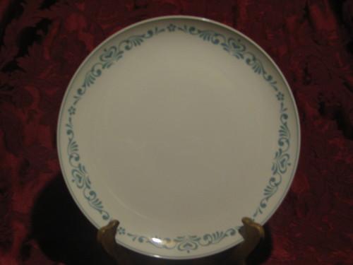"Franciscan 10.25"" Dinner Plate, Whitestone Ware, Blue Fancy"