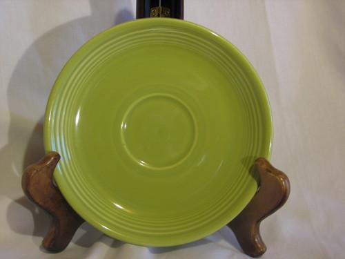 Fiestaware by Homer Laughlin, Saucer, Lemon Grass