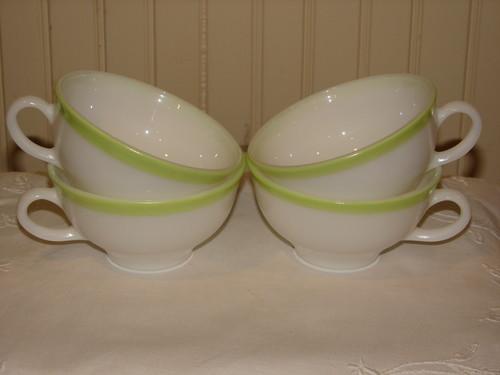 Pyrex Lime Green Tea Cup