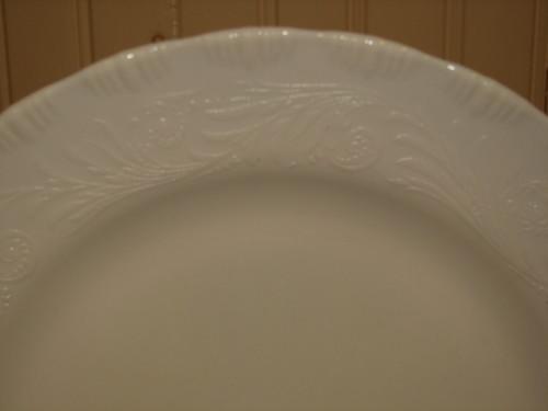 "Chinex Classic 11.75"" Dinner, Chop Plate Ivory, MacBeth-Evans"