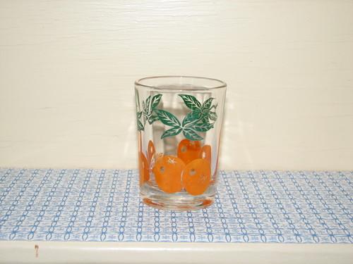 Anchor Hocking Orange Juice Glass