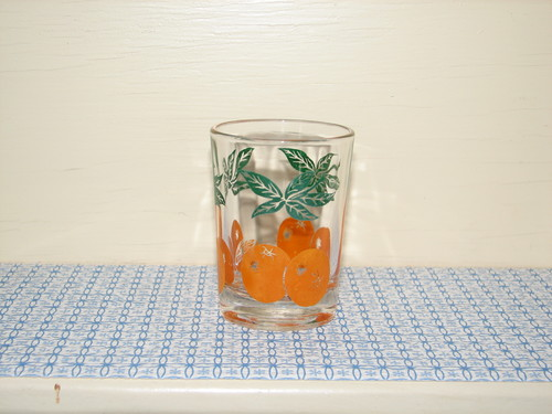 Federal Glass, Orange Juice Glass
