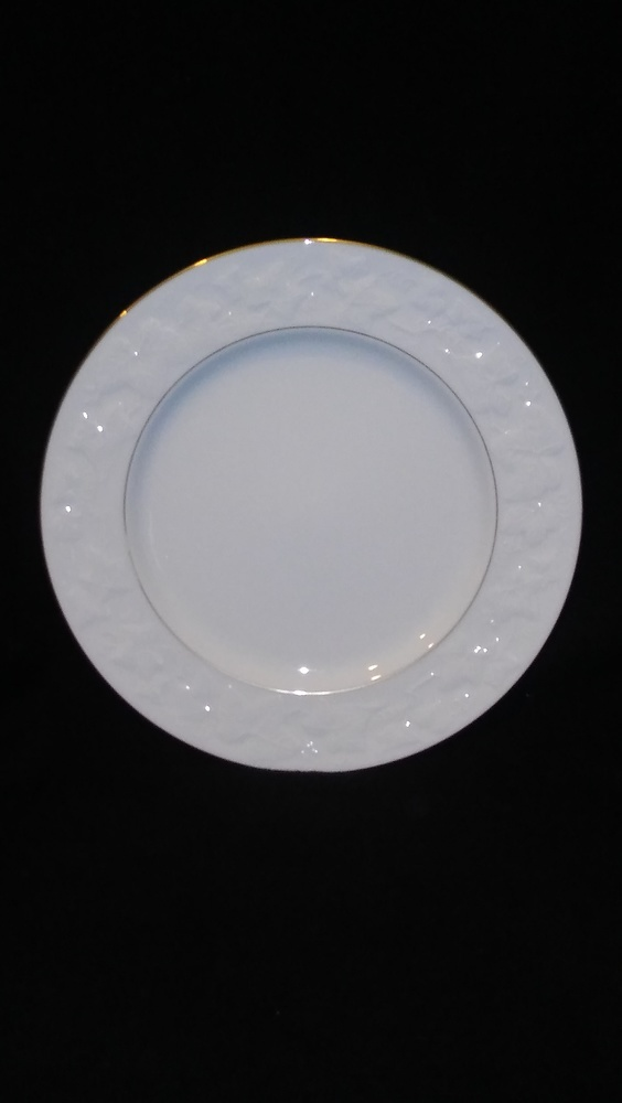 "Noritake Ivory China Dinner Plate 10 7/8"" Halls Of Ivy #7341"