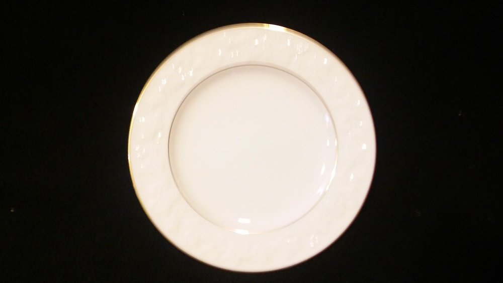 """Noritake Ivory China Bread & Butter Plate 6 3/4"""" Halls Of Ivy #7341"""