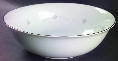 """Sango China, Round Vegetable Serving Bowl 10"""" , Julie Pattern #6184"""