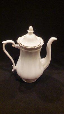 Walbrzych Empire Tea/Coffee Pot with Lid 7 3/8