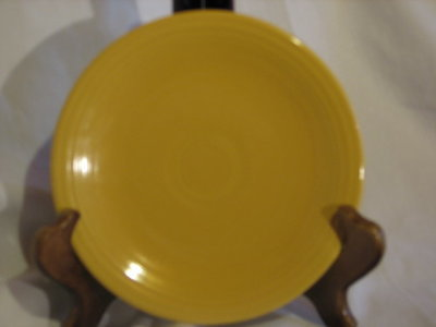 Fiestaware by Homer Laughlin  Bread & Butter Plate, Yellow