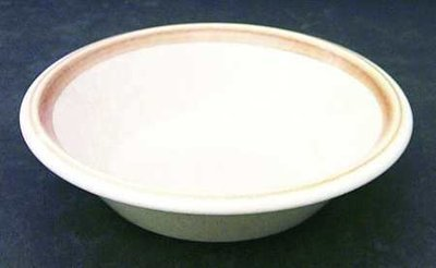 """Mikasa 2 - Cereal / Soup Bowls, Stone Manor, Lisbet F5804 Pattern 7.25"""" DIA"""