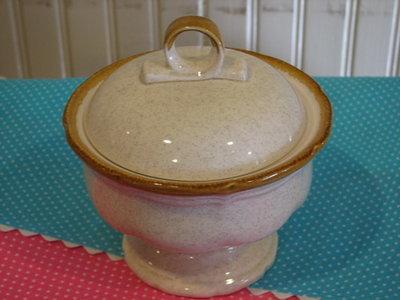 Mikasa Sugar Bowl With Lid, Garden Club #EC400