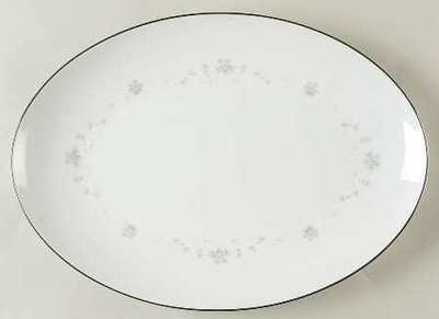 Sango China, Oval Serving Platter 12 1/4