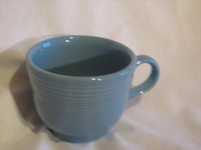 Vintage Fiestaware Coffee Cup, Blue