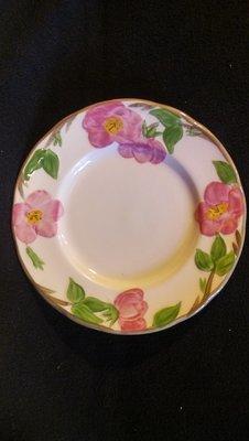 "Franciscan Bread & Butter Plate, Desert Rose, 6.25"""