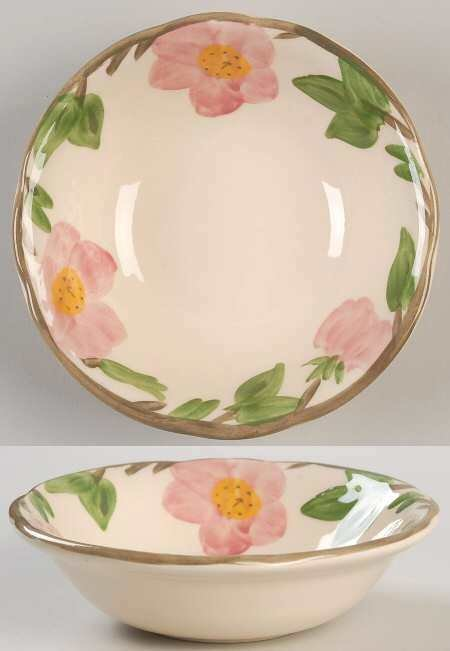 "Franciscan Coupe Cereal Bowl 5 7/8"", Desert Rose"