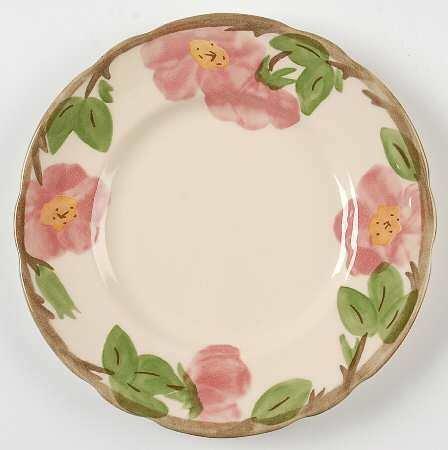 Franciscan Salad Plate, Desert Rose