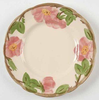 """Franciscan Dinner Plate 10 5/8"""", Desert Rose"""