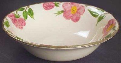 "Franciscan Round Vegetable Bowl 9"", Desert Rose"
