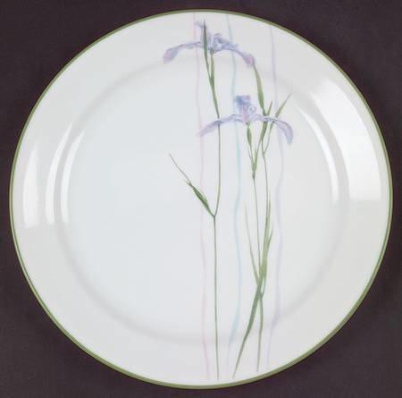 """Corelle Luncheon Plate 9"""", Shadow Iris Pattern"""